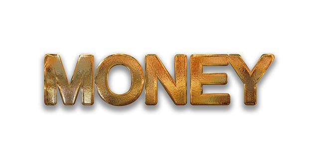 anglicky peníze