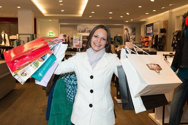 radost z nákupů