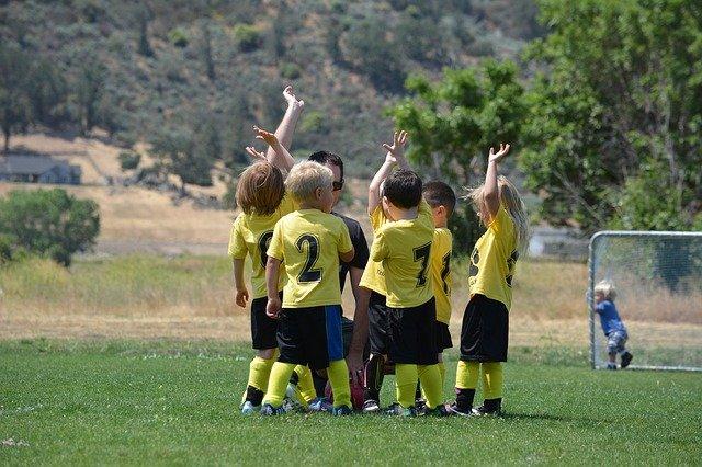 děti fotbalisti