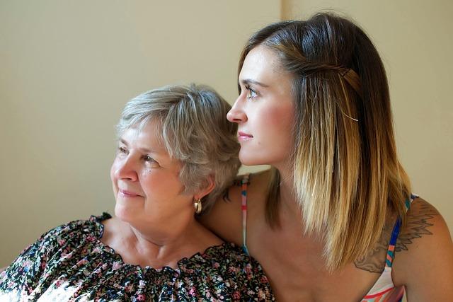 láska matky a dcery