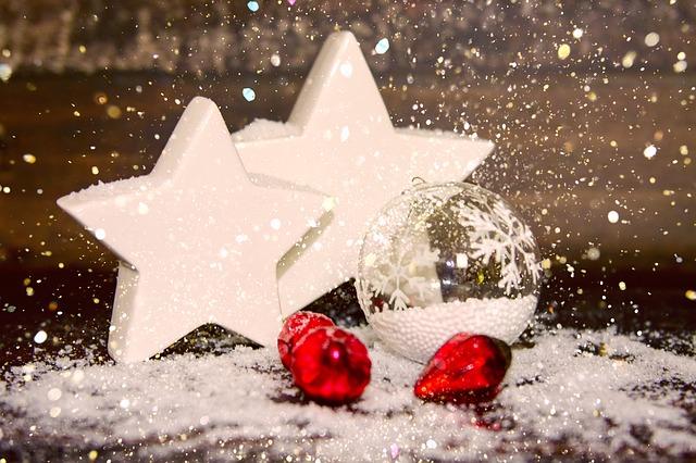 Vianočné dekorácie zmodelovacej hmoty