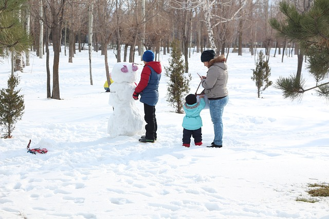 Postavte si snehuliaka