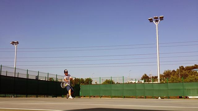 tenisová hra